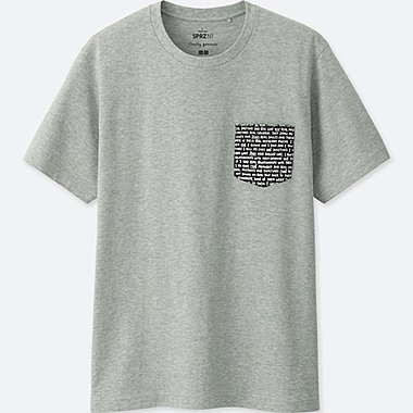 MEN SPRZ NY GRAPHIC T-SHIRT (Timothy Goodman), GRAY, medium