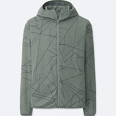 MEN SPRZ NY Dry-EX Long Sleeve Full-Zip Hoodie (Francois Morellet)