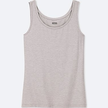 WOMEN HEATTECH JERSEY SLEEVELESS TANK TOP