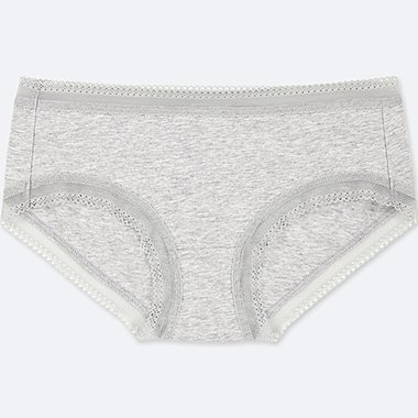 WOMEN LOW RISE LACE HIPHUGGER BRIEFS