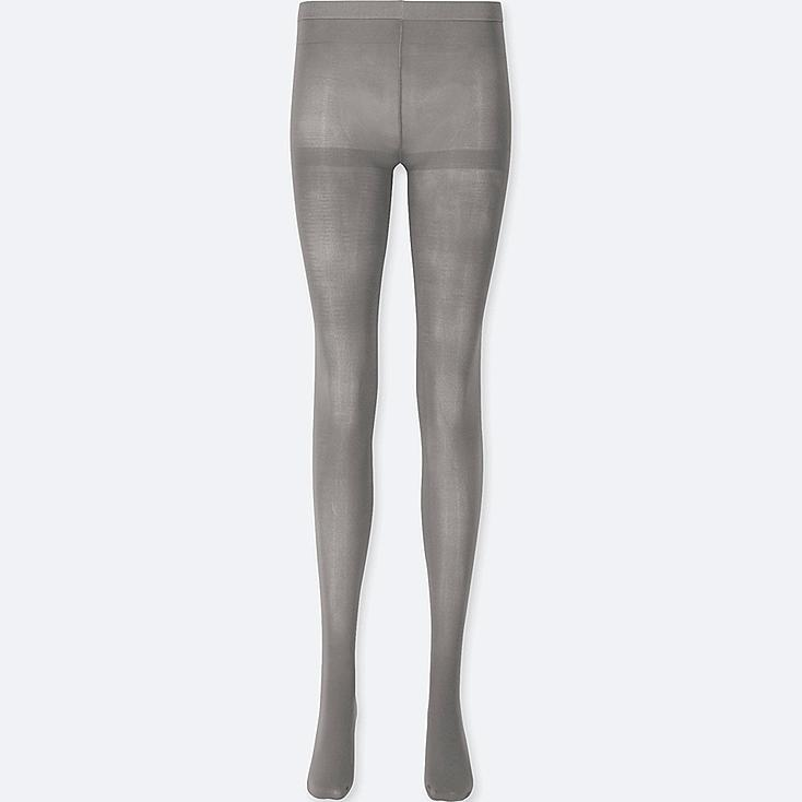 WOMEN HEATTECH TIGHTS, GRAY, large