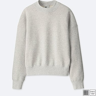 WOMEN UNIQLO U CREW NECK SWEATSHIRT TOP