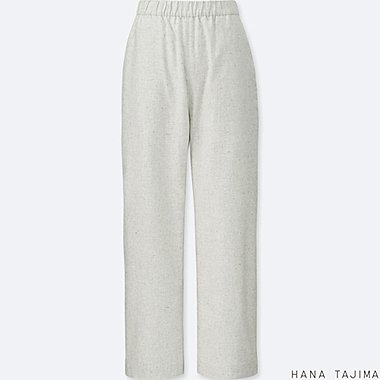 WOMEN HPJ FLANNEL TAPERED TROUSERS
