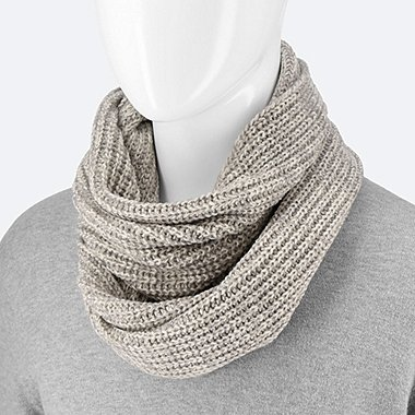 HEATTECH SNOOD, GRAY, medium