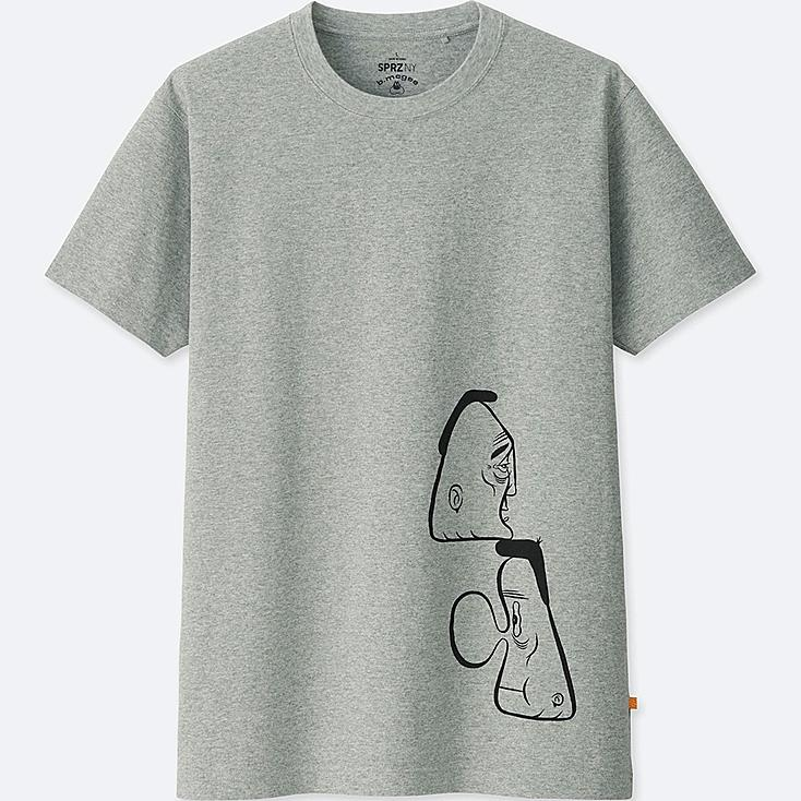 SPRZ NY BARRY MCGEE GRAPHIC T-SHIRT, GRAY, large