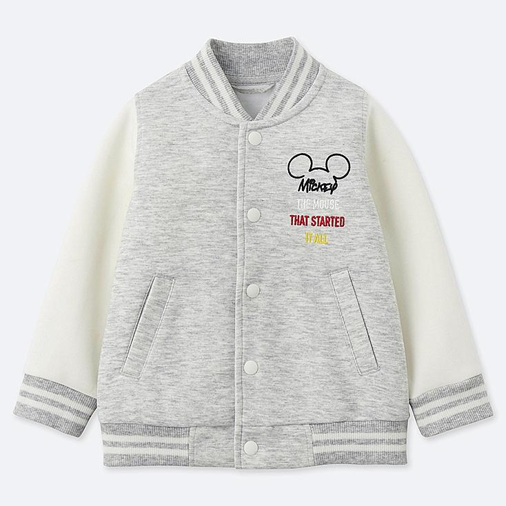 TODDLER CELEBRATE MICKEY BLOUSON, GRAY, large