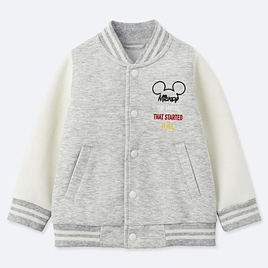 TODDLER CELEBRATE MICKEY BLOUSON, GRAY, medium