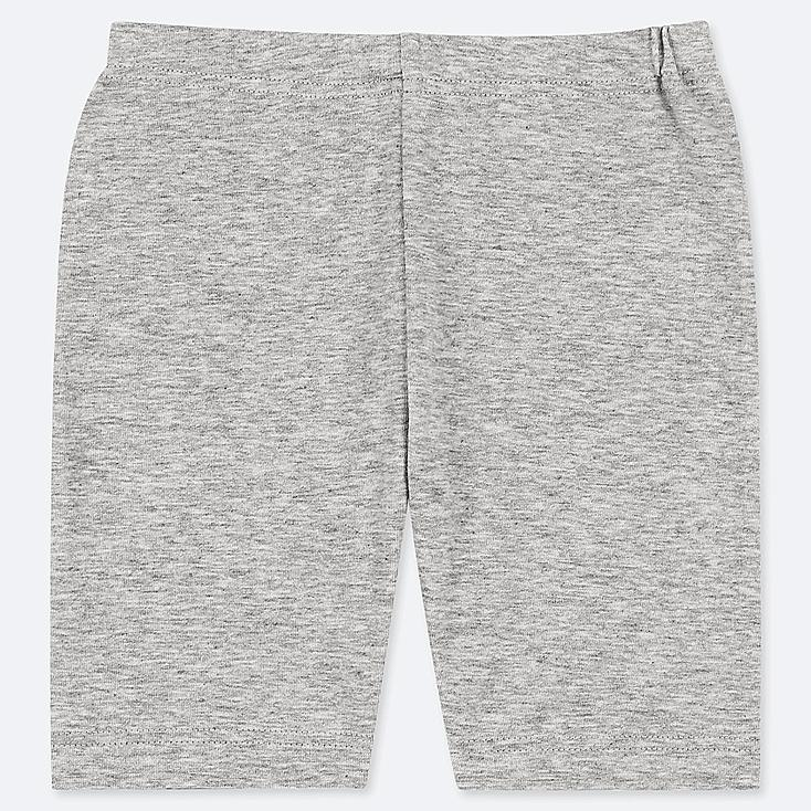 TODDLER DRY HALF LEGGINGS, GRAY, large