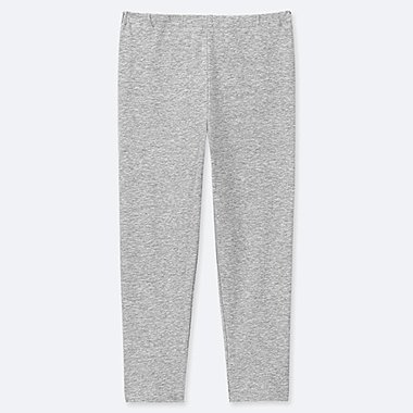 GIRLS CROPPED LEGGINGS, GRAY, medium