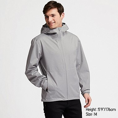 MEN BLOCKTECH HOODED PARKA