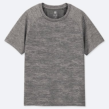 KIDS DRY-EX CREW NECK T-SHIRT