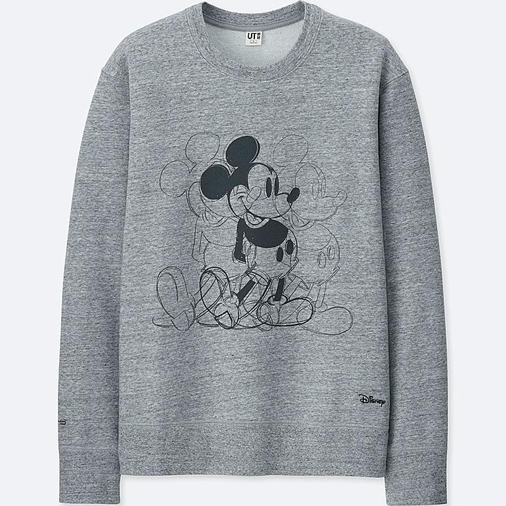 MICKEY ART SWEATSHIRT (ANDY WARHOL), GRAY, large