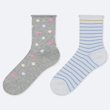CALCETINES ESTAMPADOS NIÑA (2 PACK)
