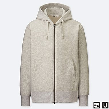 MEN UNIQLO U ZIPPED HOODIE