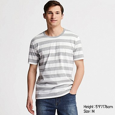 5c429451c9 MEN SUPIMA COTTON STRIPED SHORT SLEEVED T-SHIRT