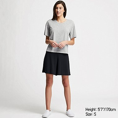 WOMEN AIRISM SHORT SLEEVED SET