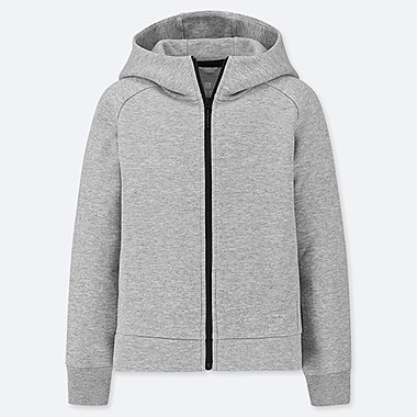 KIDS DRY STRETCH SWEAT ZIPPED HOODIE
