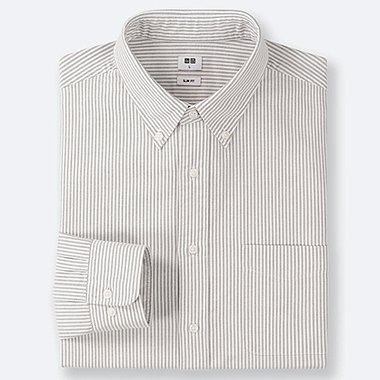 HERREN GESTREIFTES OXFORD-HEMD (SLIM FIT)