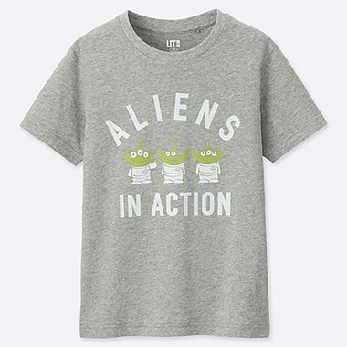 KIDS MAGIC FOR ALL ARCHIVE COLLECTION UT (SHORT-SLEEVE GRAPHIC T-SHIRT), GRAY, medium