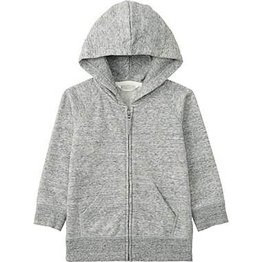 TODDLER Sweat Full Zip Long Sleeve Hoodie
