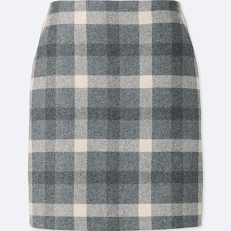 WOMEN HIGH WAIST WOOL BLEND MINI SKIRT | UNIQLO US