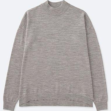 DAMEN Pullover Stehkragen aus Merinowolle