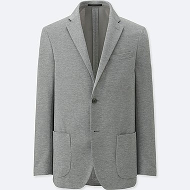 MEN COMFORT JACKET, GRAY, medium