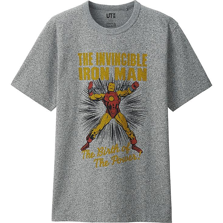 HERREN T-Shirt Bedruckt MARVEL Collection