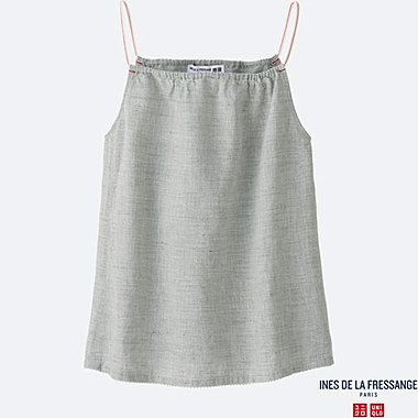 WOMEN INES Cotton Linen Camisole
