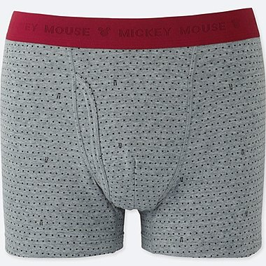 MEN DISNEY BOXER BRIEFS, GRAY, medium