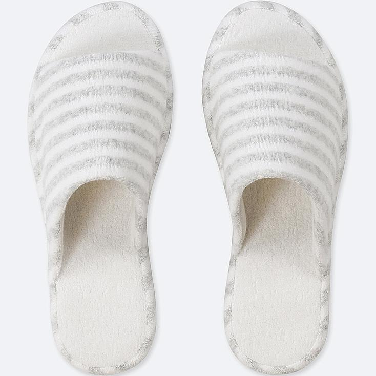 PILE-TRIMMED SLIPPERS | Tuggl
