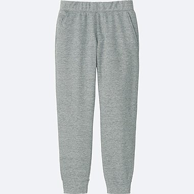 MEN WINDPROOF FLEECE PANTS, GRAY, medium