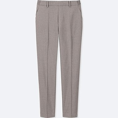 WOMEN EZY ANKLE LENGTH TROUSERS