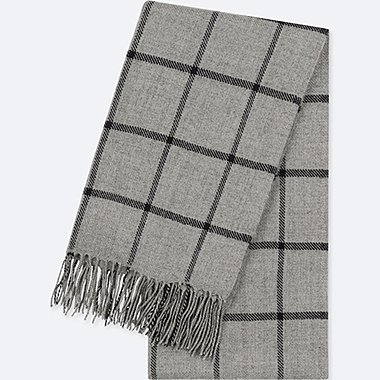 HEATTECH PATTERNED SCARF