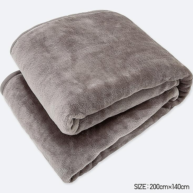 HEATTECH BLANKET (SINGLE) (ONLINE EXCLUSIVE), GRAY, large