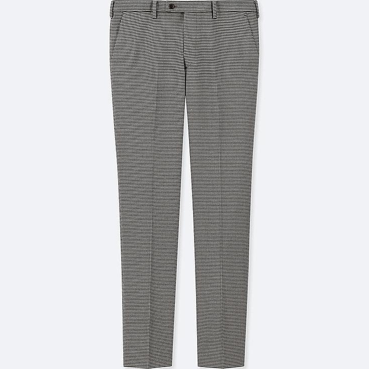 MEN HEATTECH STRETCH SLIM-FIT PANTS, GRAY, large