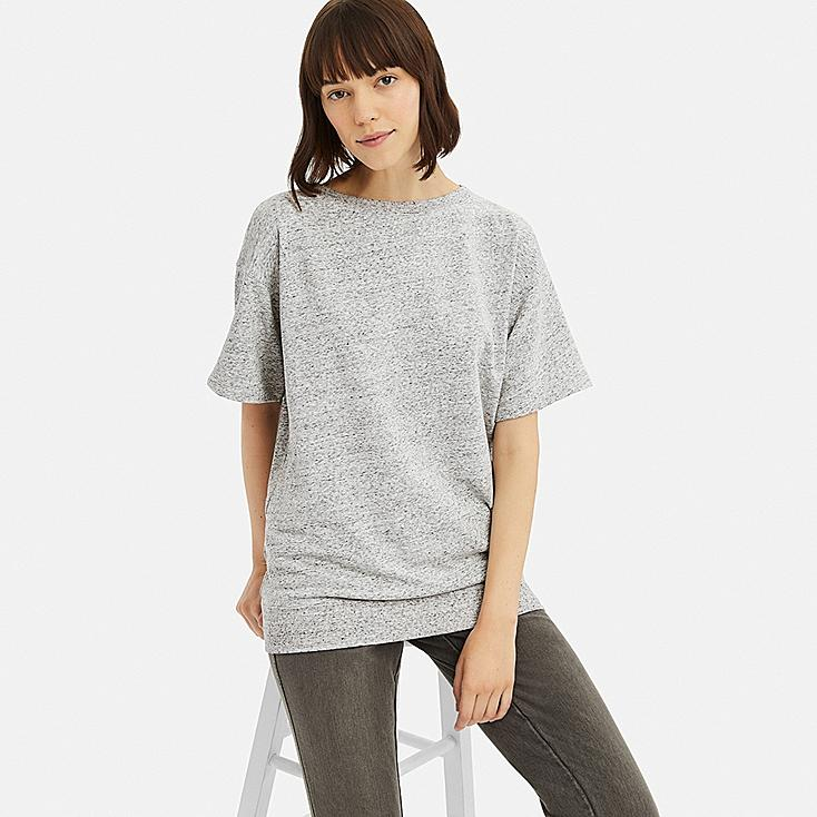 Ultra T Long Stretch FemmeUniqlo Shirt qSVUzjLpGM