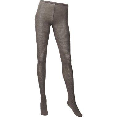 WOMEN HEATTECH Knitted Tights (Rib)