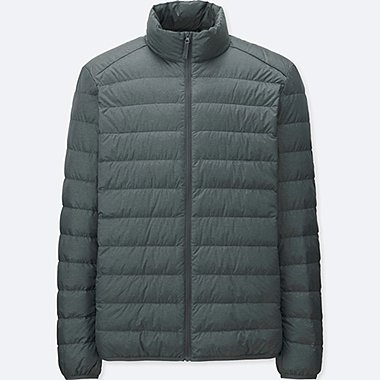 Ultra Light Down Jacket, GRAY, medium