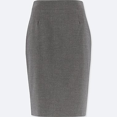 WOMEN STRETCH pencil SKIRT