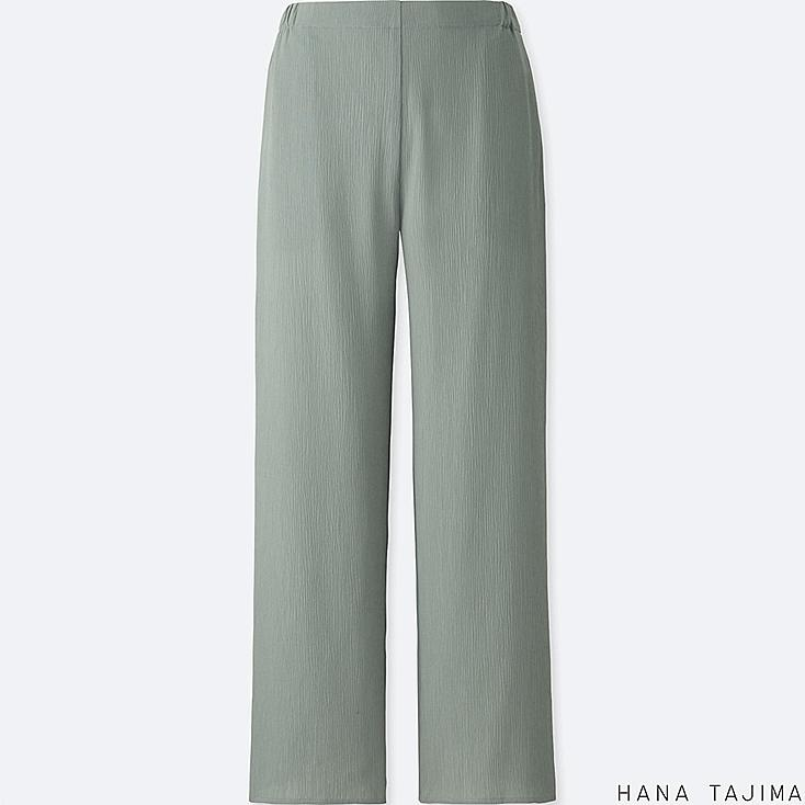 WOMEN RELAXED PANTS, GRAY, large