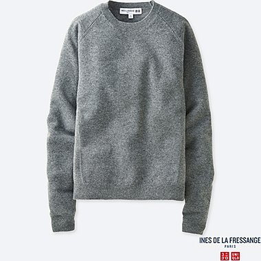 INES - PULL CACHEMIRE COL ROND FEMME