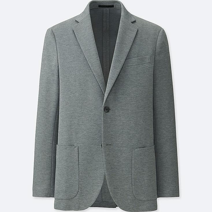 MEN COMFORT JACKET, GRAY, large