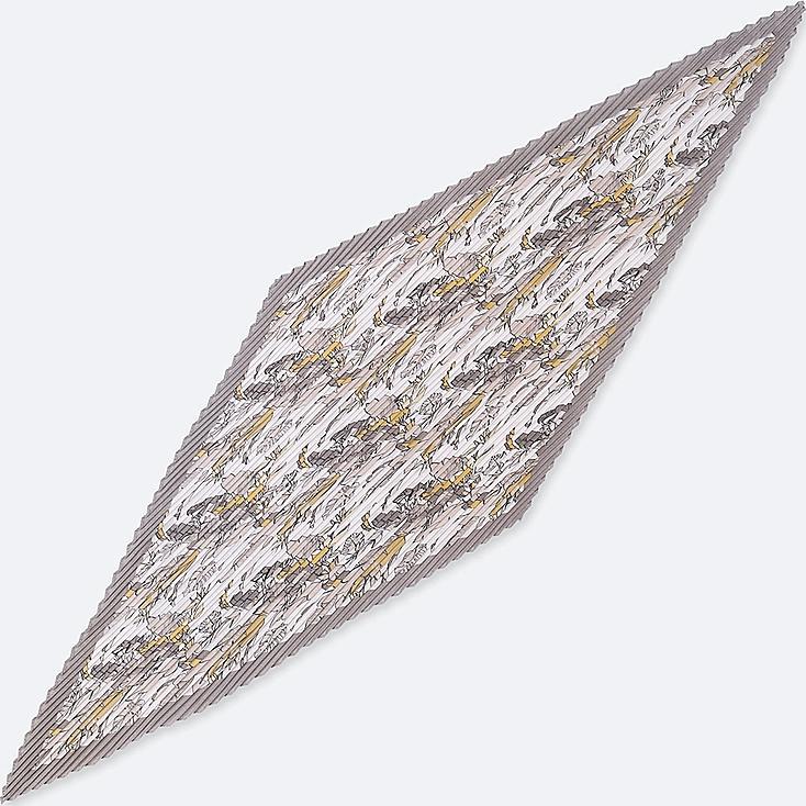 Bufanda con brillo y pliegues (hoja) MUJER
