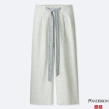 women j.w. anderson wide cropped pants