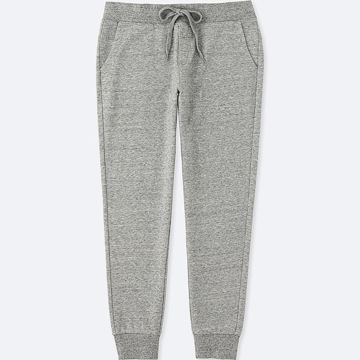 Women's Sweatpants, GRAY, large