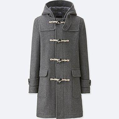 Duffle Coat En Laine Mélangée HOMME