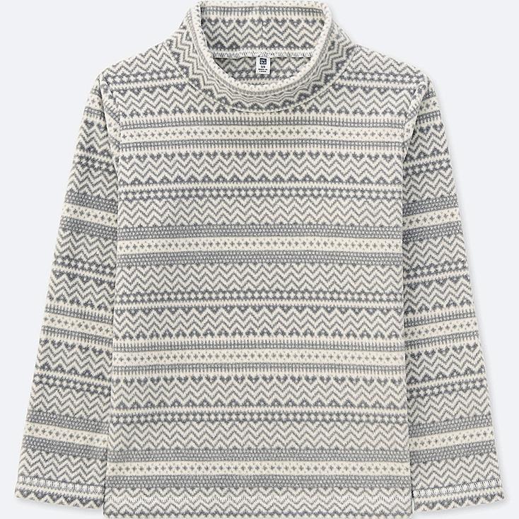 T-Shirt Polaire Col Haut Manches Longues FILLE