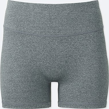 WOMEN AIRism ACTIVE  SHORTS, GRAY, medium