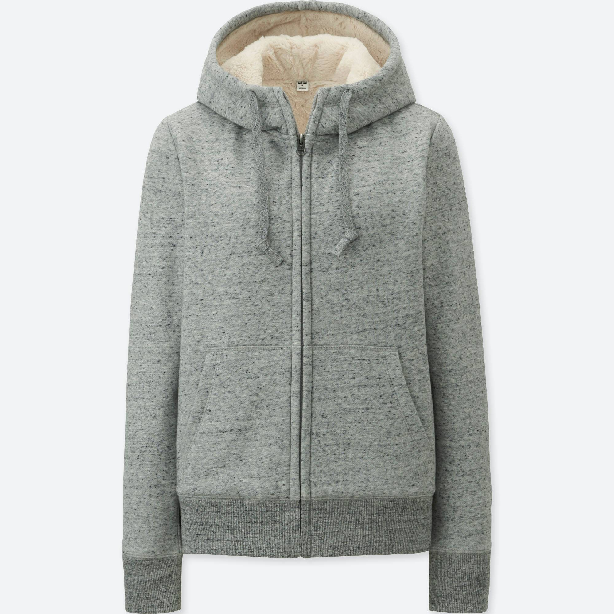 WOMEN PILE-LINED SWEAT LONG-SLEEVE FULL-ZIP HOODIE | UNIQLO US